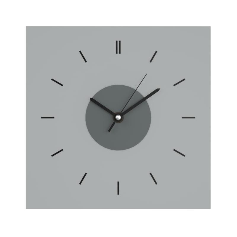 3d Wall Clocks Ikea