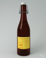 vintage bottle cap 3d blend