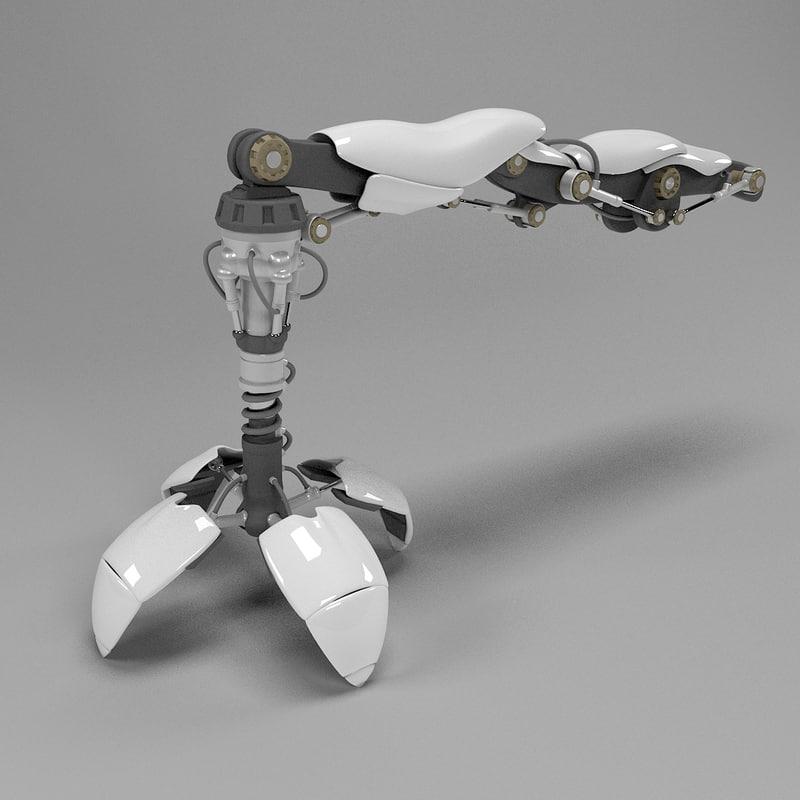 3dsmax robot manipulator