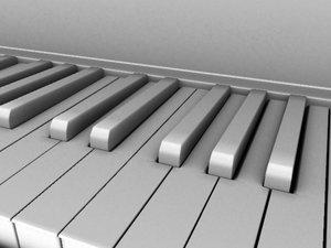 3d basic piano