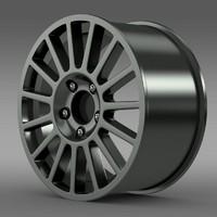 3d model polo r wrc