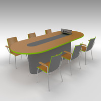 table projector 3d model