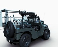 willy jeep 3d ma