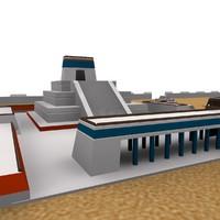 TENOCHTITLAN 3D ANCIENT CITY MAX 2010