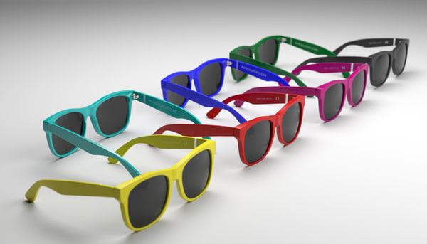 super sunglasses 3d max