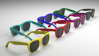 super sunglasses 3d max