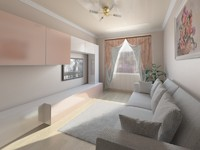 Interior of room 4