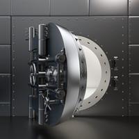 Bank Vault - High Detailed