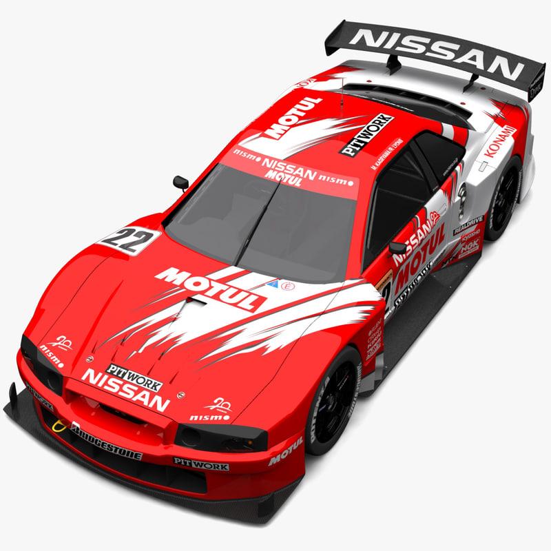 nissan gtr r34 3d model
