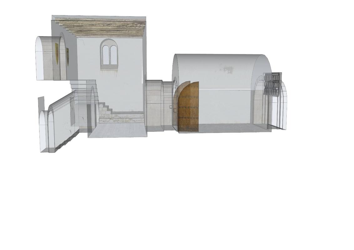 gameready castle entrance x