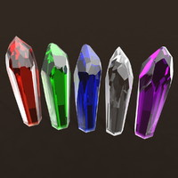 crystal mineral geode 3d model