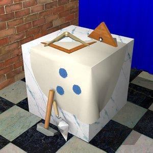 dae cube stone ceremonial