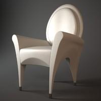 free max model fendi garcia chair