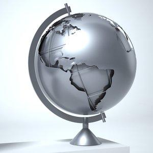 c4d globe