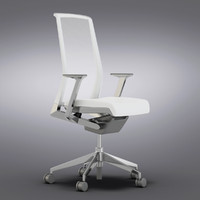 Crate and Barrel - Haworth Very White Task Chair