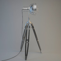 floor lamp 3d obj