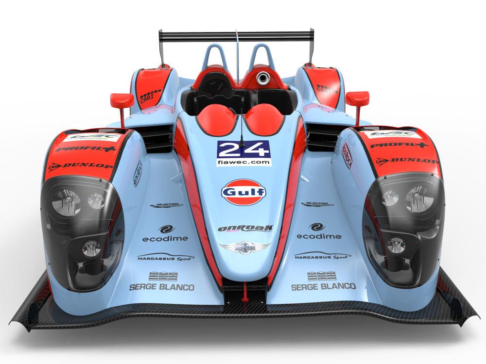 3ds max oak racing morgan