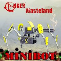 minibot bot 3d obj