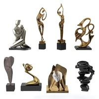 Modern Sculpture Set
