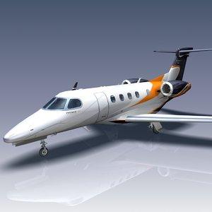 3dsmax phenom 300 embraer