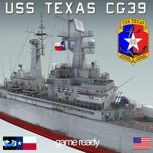 3d uss texas cgn-39 sh-60
