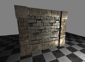 c4d set wall 1