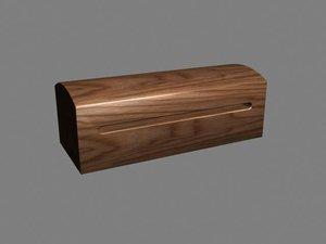 chinese box percusive 3d model