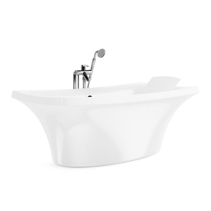 bath bathtube 3d model