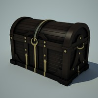 3ds max chest