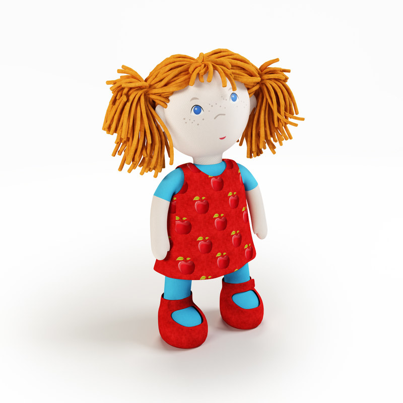 3ds max dolls toys