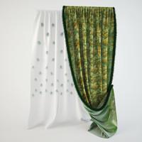 obj curtain classical
