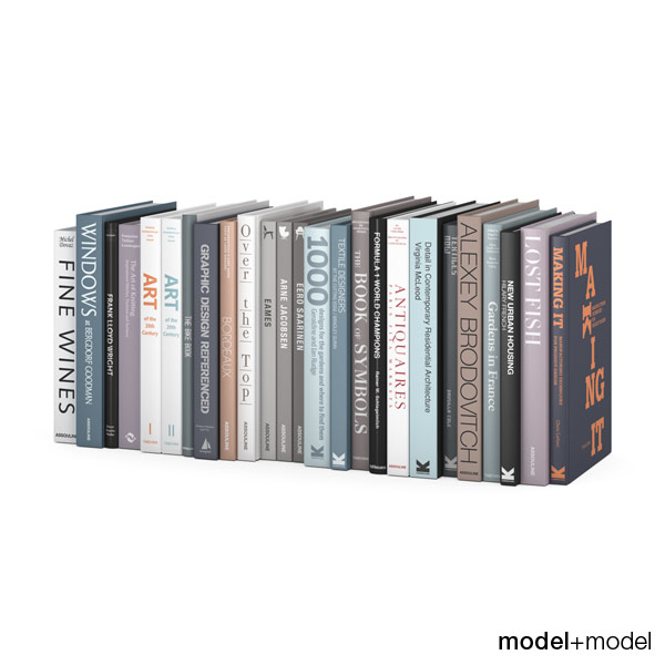 3ds max books customizable design set