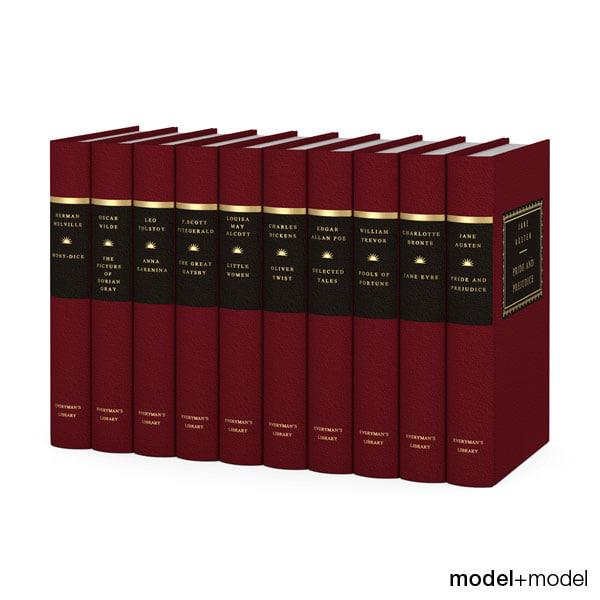 everyman s library classics 3d max