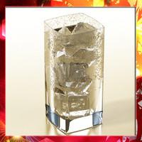 photorealistic glass ice 3d model