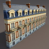 Apartment House #104 Low Poly 3d Model