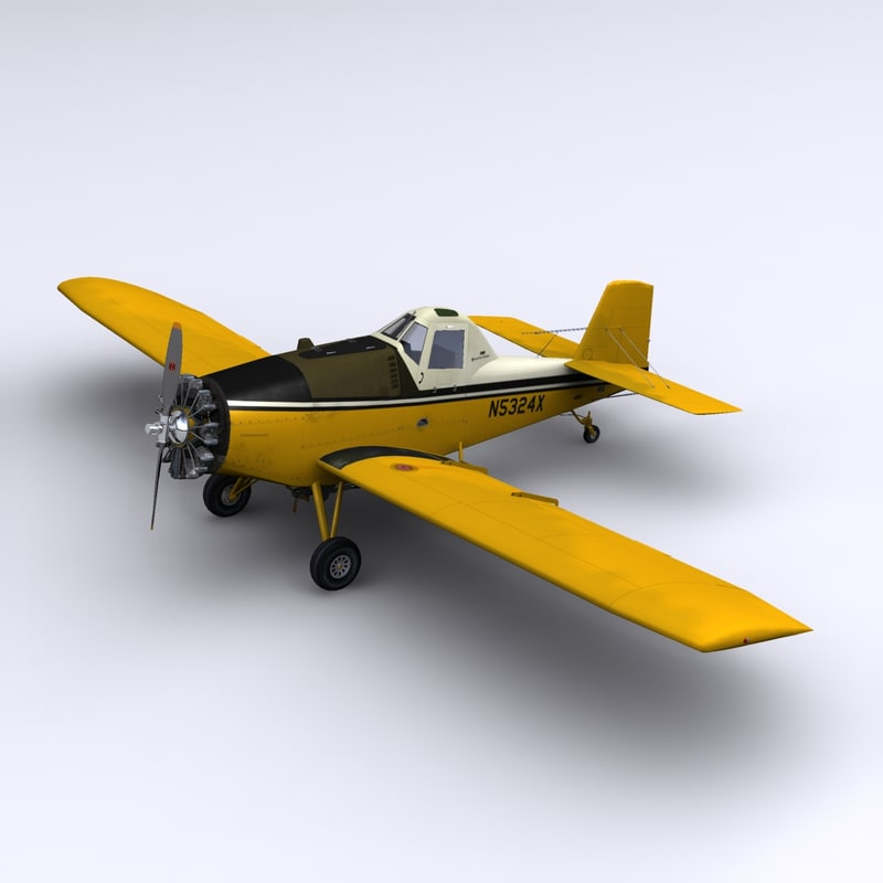 3d model of ayres thrush commander