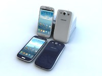 3d model galaxy s3 samsung