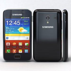 3d model samsung galaxy ace s7500
