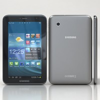 samsung galaxy tab 2 3d model