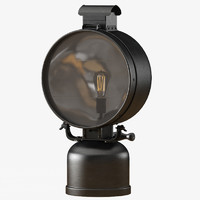British Railway Flood Lamp