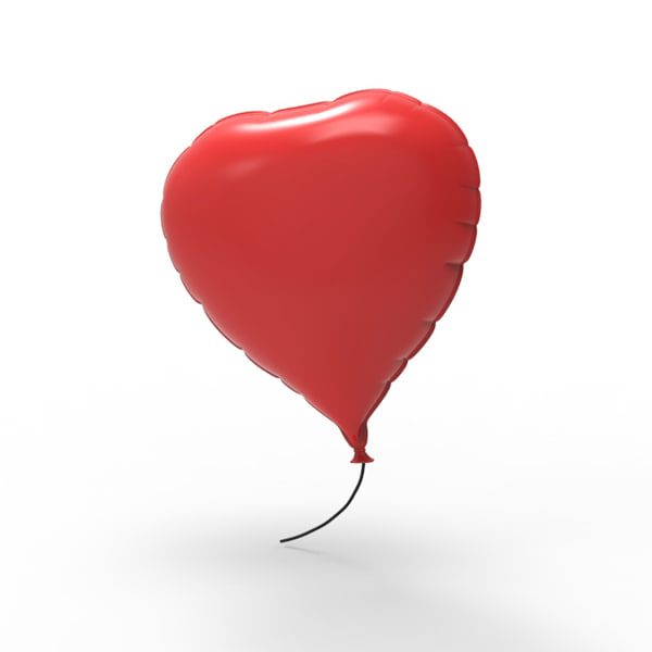 heart balloon max
