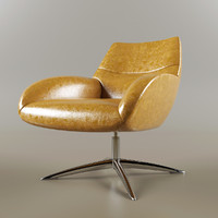 3d lilly chair model