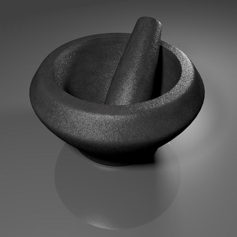 stone grinder 3d fbx