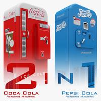 Coca Cola Pepsi Vending Machine