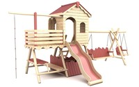 Wooden Playground Equipment 1