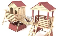 Wooden Playground Equipment 2