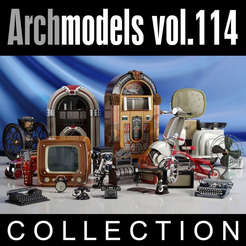 3ds max archmodels vol 114