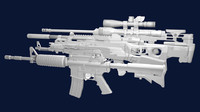 pack weapons m4 carbine blend