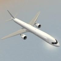 airliner boeing 757-300 3d obj