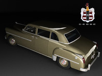 3ds max dodge coronet 8-passenger sedan